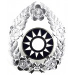 China Army Nc`o Aluminium Cap Badge